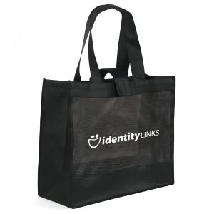Non-Woven Large Tote Bag with a Net
