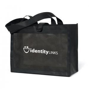 Non-Woven Medium Tote Bag with a Net
