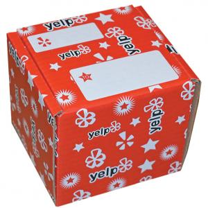 5 x 5 x 5 B-Flute Mailer Tuck Box