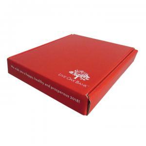 5.25 x 6.25 x 1 B-Flute Mailer Tuck Box