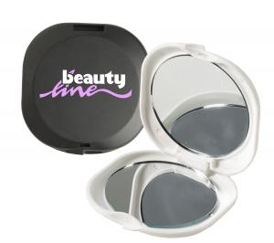 Dual-Glam Mirror with 3x Magnifying Mirror