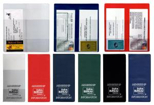 Policy and Document Holders w/4 clear pockets