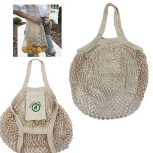 Cotton Net Market Tote Bag