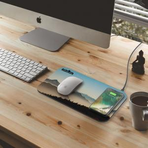 NoWire Mouse Pad Qi Charger
