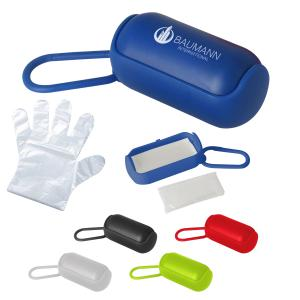 Disposable Gloves In Carrying Case