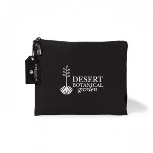 Large 8 Oz Cotton Zippered Pouch