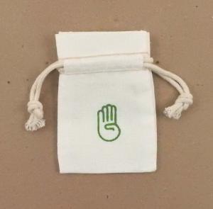 2 x 3 Cotton Double Drawstring Bag