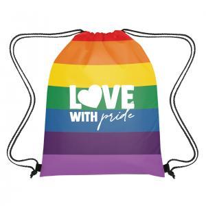 Rainbow Drawstring Bag Sports Pack