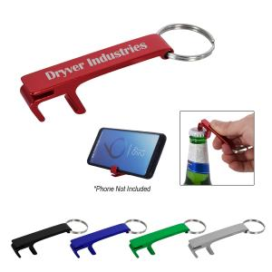 Bottle Opener Key Chain with Phone Holder