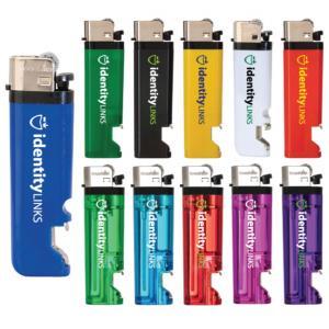 Lighter with Bottle Opener