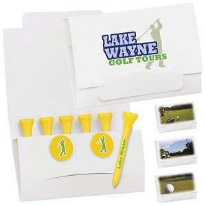 Matchbook Golf Tee & Marker Packet