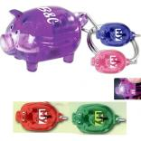 Oink Light Up Pig Keychain