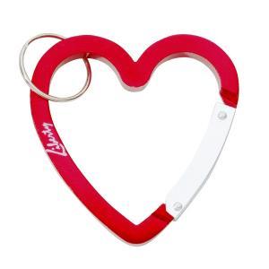 Large Heart Shaped Carabiner Keychain