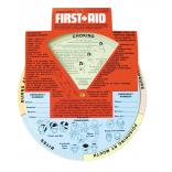 Emergency First Aid Guide Wheel