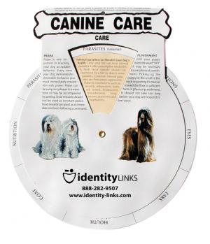 Canine Care Guide Wheel