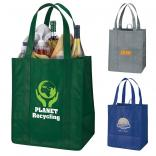 Rustic Recycled Plastic Tote Bag