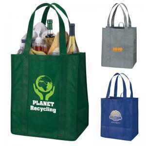 Rustic Recycled Plastic Tote Bag