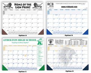 "Academic Year 21"" x 16"" Desk Blotter Calendars"