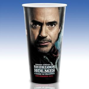 32 Oz. Hi-Definition White Plastic Custom Cups