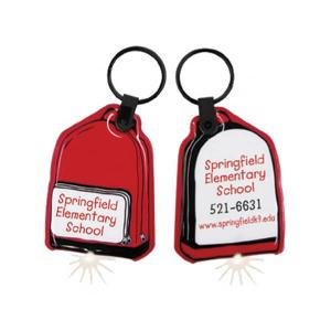 Backpack Shaped Soft Touch Key Lights