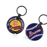 Baseball Soft Touch Key Tag Lights