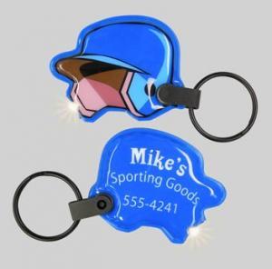 Baseball Helmet Soft Touch Key Lights