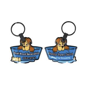 Pet Shop Dog Soft Touch Key Tag Light