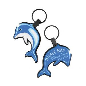 Dolphin Shaped Soft Touch Key Tag Light