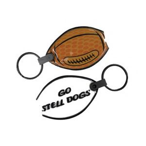 Football Soft Touch Key Tag Light