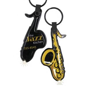 Saxophone Shaped Key Tag Light