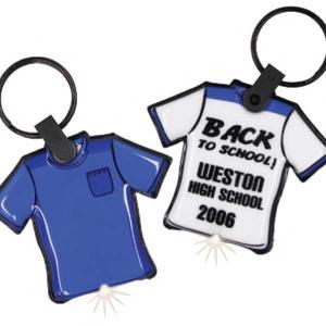 T-shirt Shaped Key Tag Light