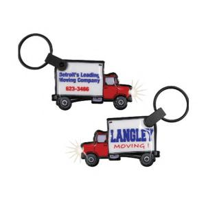 Moving Truck Shaped Key Tag Light