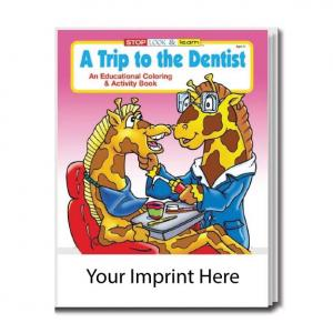 """A Trip To The Dentist"" Coloring Book"