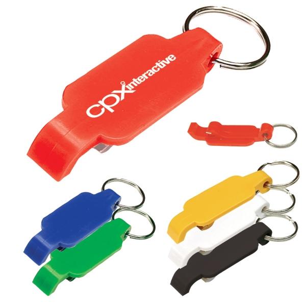 Bright Bottle Opener Keychain