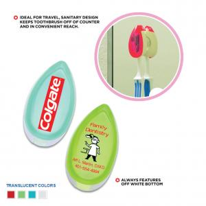 No More Germs Toothbrush Holder
