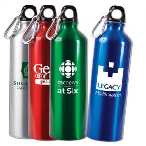 25 oz.  Aluminum Water Bottles