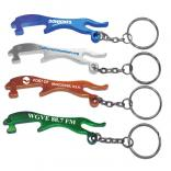 Leopard/Jaguar Shaped Bottle Opener Key Tag
