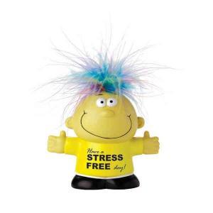 Feel Great  Talking Rainbow Headed Stress Reliever