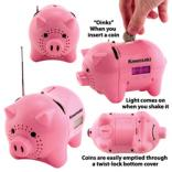AM/FM Clock Radio Talking Piggy Bank