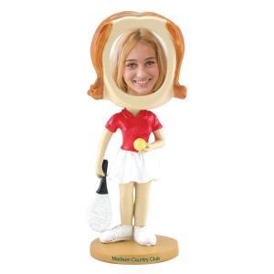 Tennis Girl Bobble Head