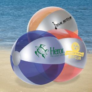 Metallic Luster Translucent Color Beach Ball