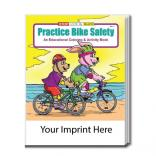 """Practice Bike Safety"" Coloring Book"