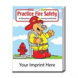 """Practice Fire Safety"" Coloring Book"