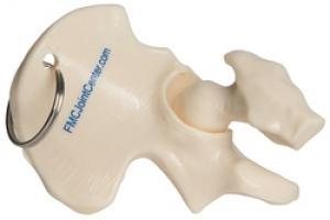 Hip shape  Keyring