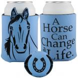 Unique Beverage Holder with Horse Design