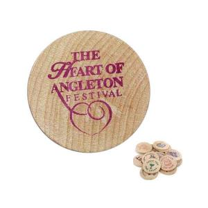 Wooden Nickle Tokens