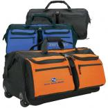 Wide-Mouth Rolling Duffel Bag