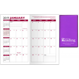 Academic 14 Month Pocket Planner With Translucent Vinyl Cover