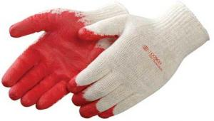 Red Latex Coated Gloves