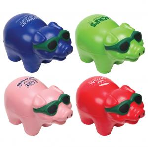 Pigs In Sunglasses Stress Relievers